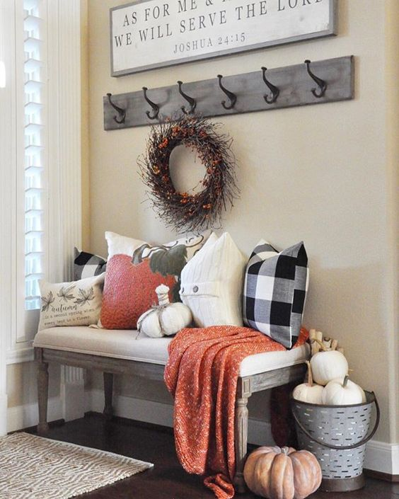 Fall Mudroom and Entryway Ideas - The Grace House Interiors