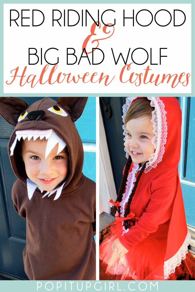 Halloween Costume Ideas - Big Bad Wolf Costumes by Pop it Up Girl