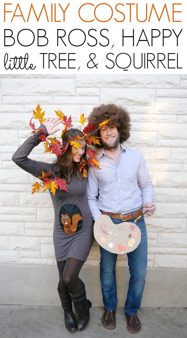 Halloween Costume Ideas - Bob Ross Costume by C.R.A.F.T.