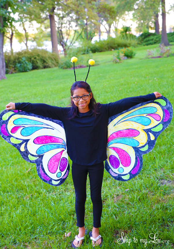 Halloween Costume Ideas - Butterfly Costume by Skip to My Lou