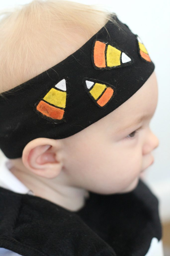 Halloween Costume Ideas - Candy Corn Headband by Sparkle Living