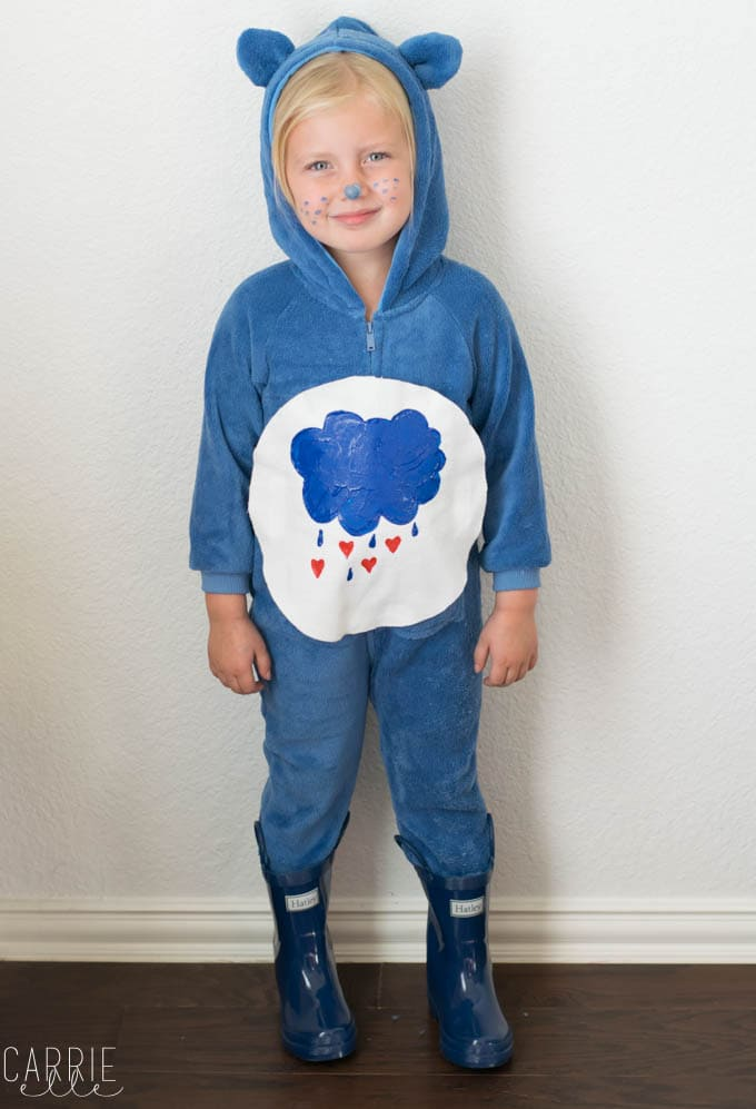 Halloween Costume Ideas - Care Bear Costume by Carrie Elle