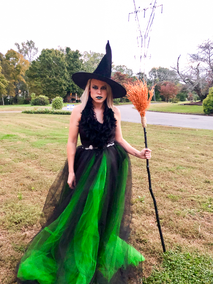 Halloween Costume Ideas - DIY Witch Costume by Rain on a Tin Roof