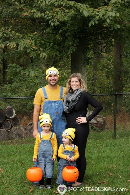 Halloween Costume Ideas - Despicable Me by Spot of Tea Designs