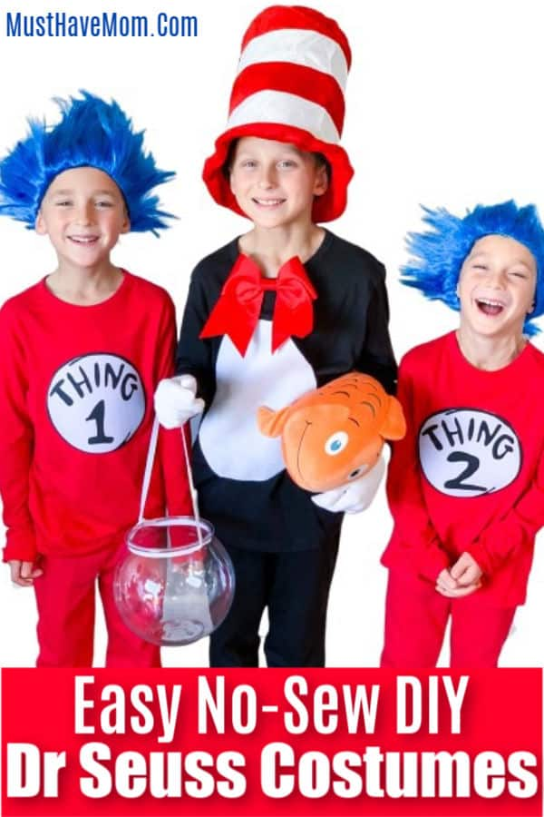 Halloween Costume Ideas - Dr. Seuss Costumes by Must Have Mom