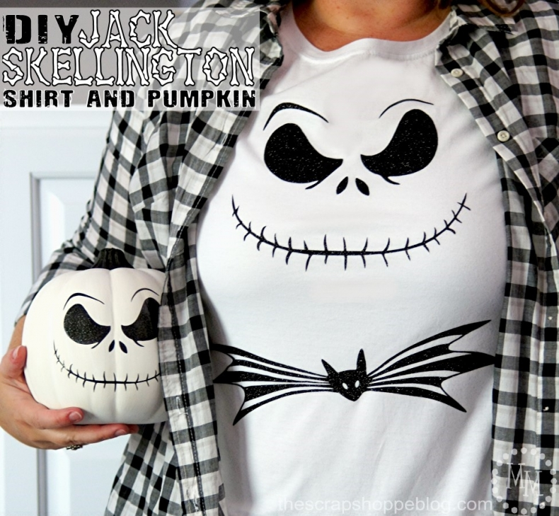 Halloween Costume Ideas - Jack Skellington Costume by Scrap Shoppe Blog