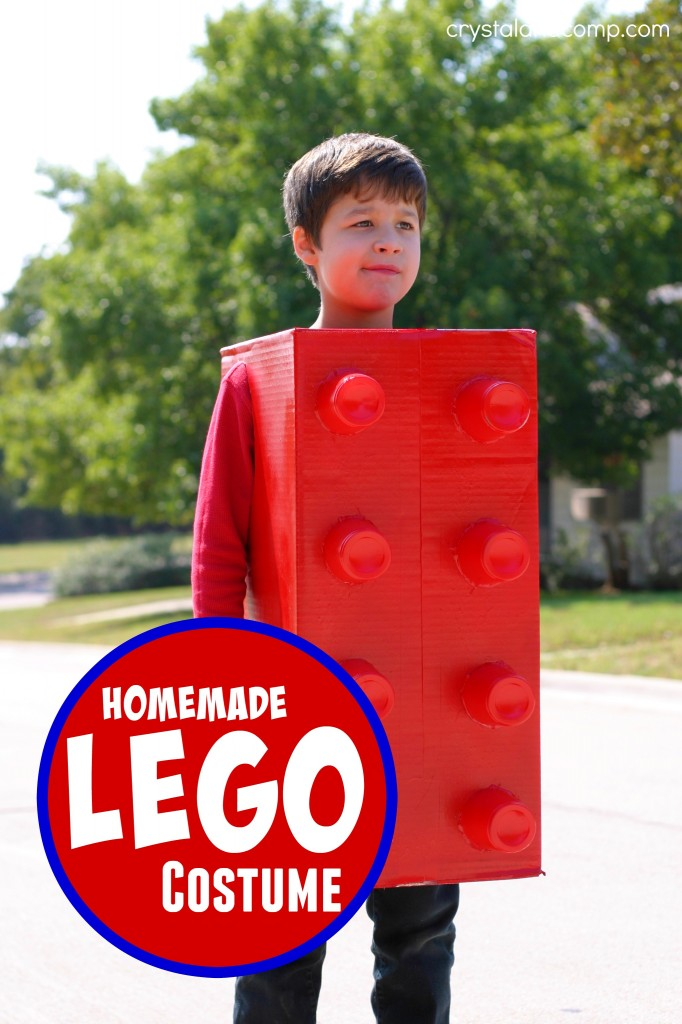 Halloween Costume Ideas - Lego Costume by Crystal & Co.