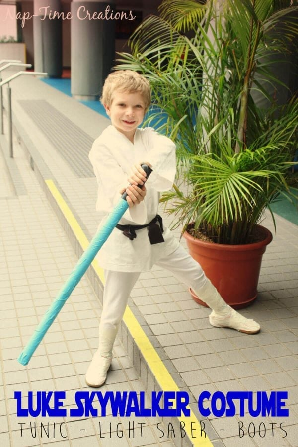 Halloween Costume Ideas - Luke Skywalker Costume by Life Sew Savory