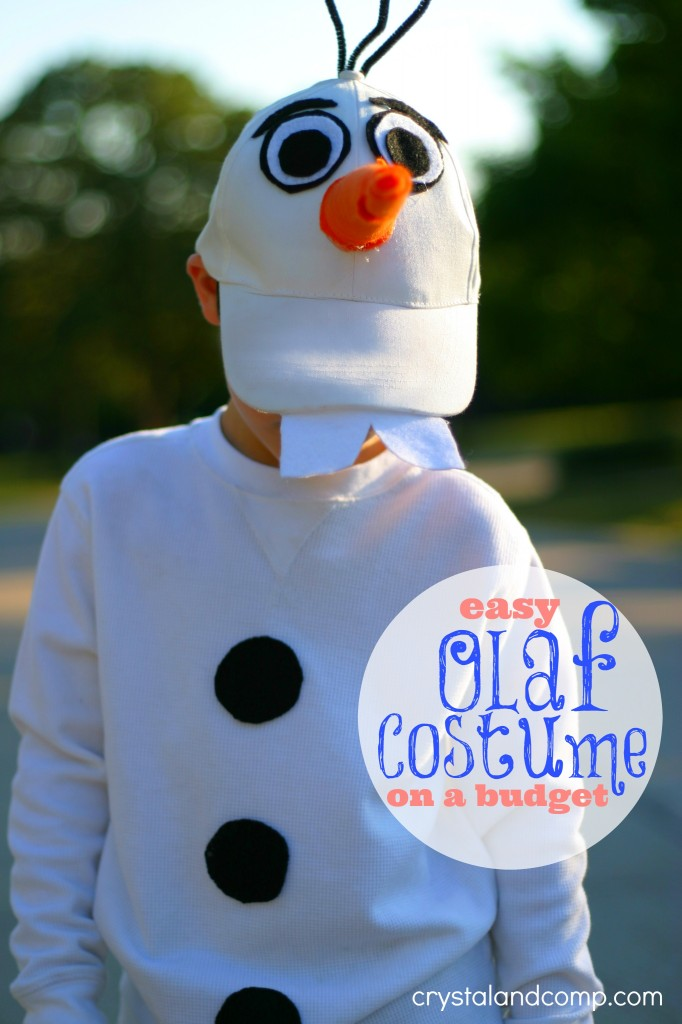 Halloween Costume Ideas - Olaf Costume by Crystal & Co.