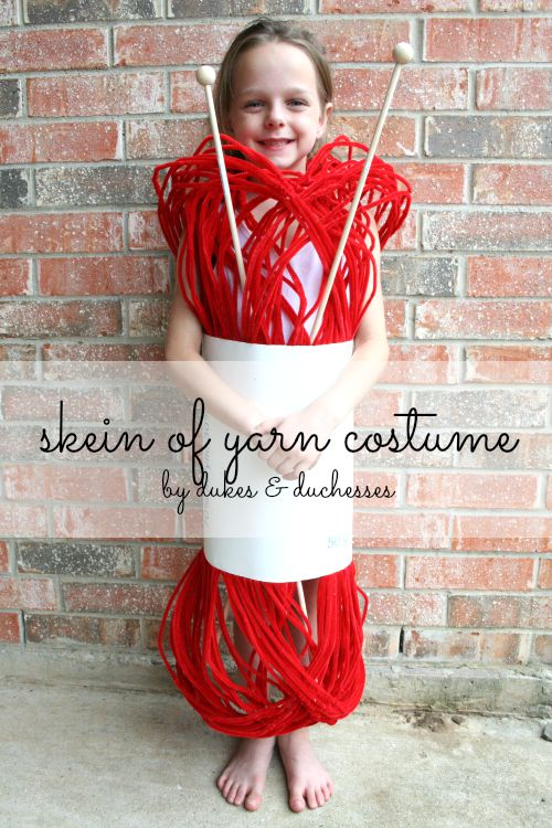 Halloween Costume Ideas - Skein of Yarn by Dukes & Duchesses