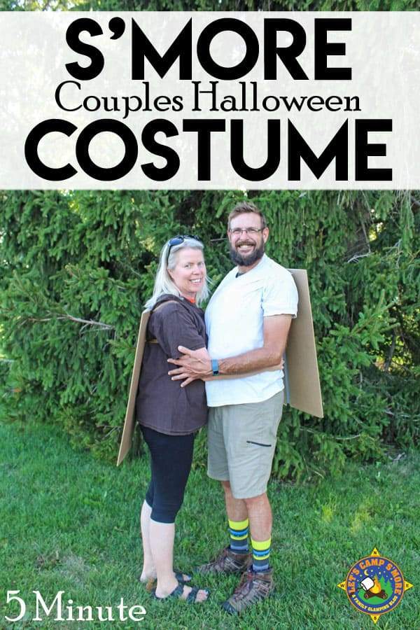 Halloween Costume Ideas - S'mores Couples Costume by Lets Camp S'more