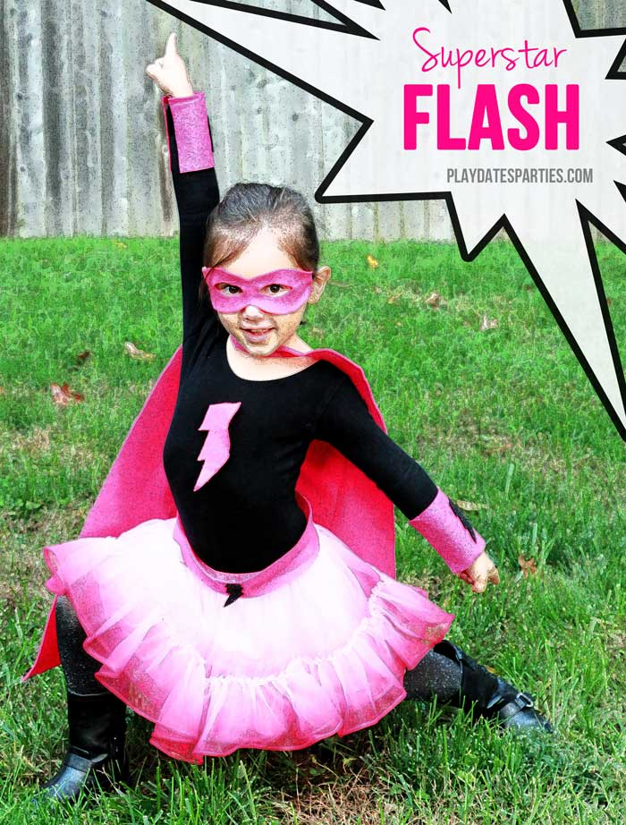 Halloween Costume Ideas - Superhero Costume by Playdates & Parties