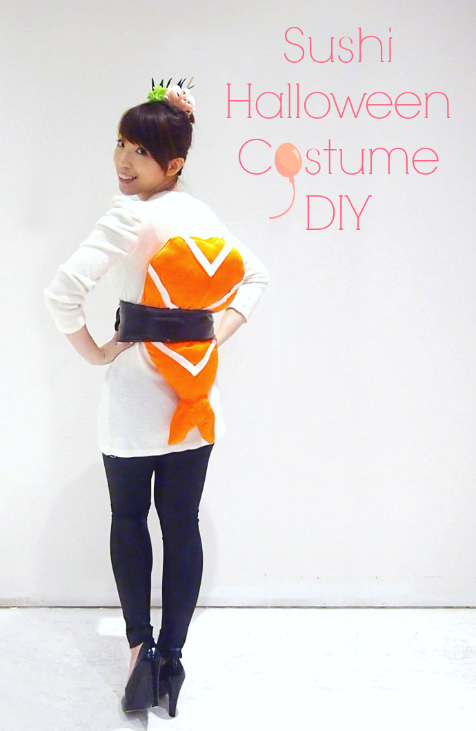 Halloween Costume Ideas - Sushi Halloween Costume by Ting and Things