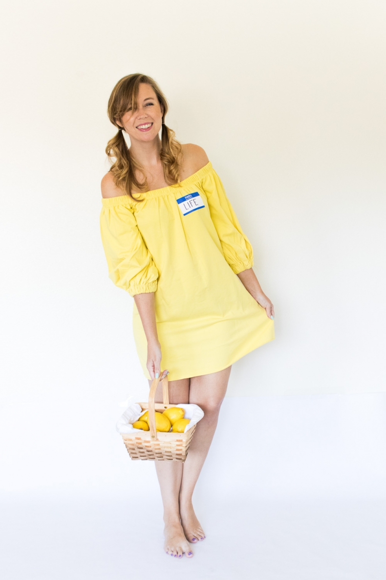 Halloween Costume Ideas - When Life Gives you Lemons Costume by Club Crafted