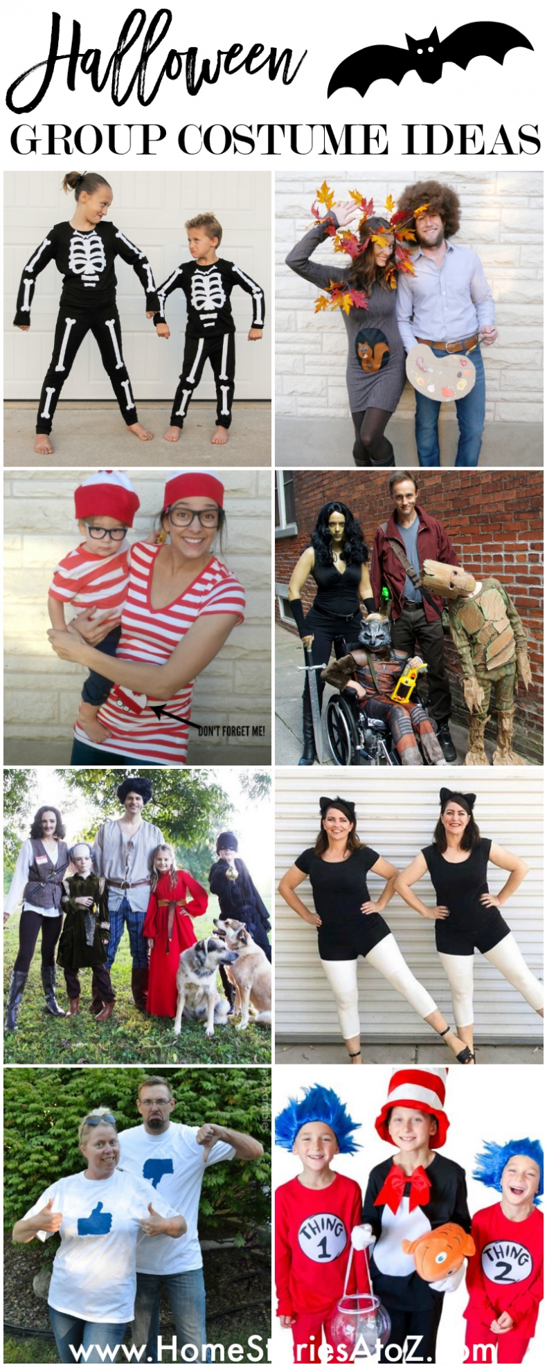 Halloween Costume Ideas for a Group