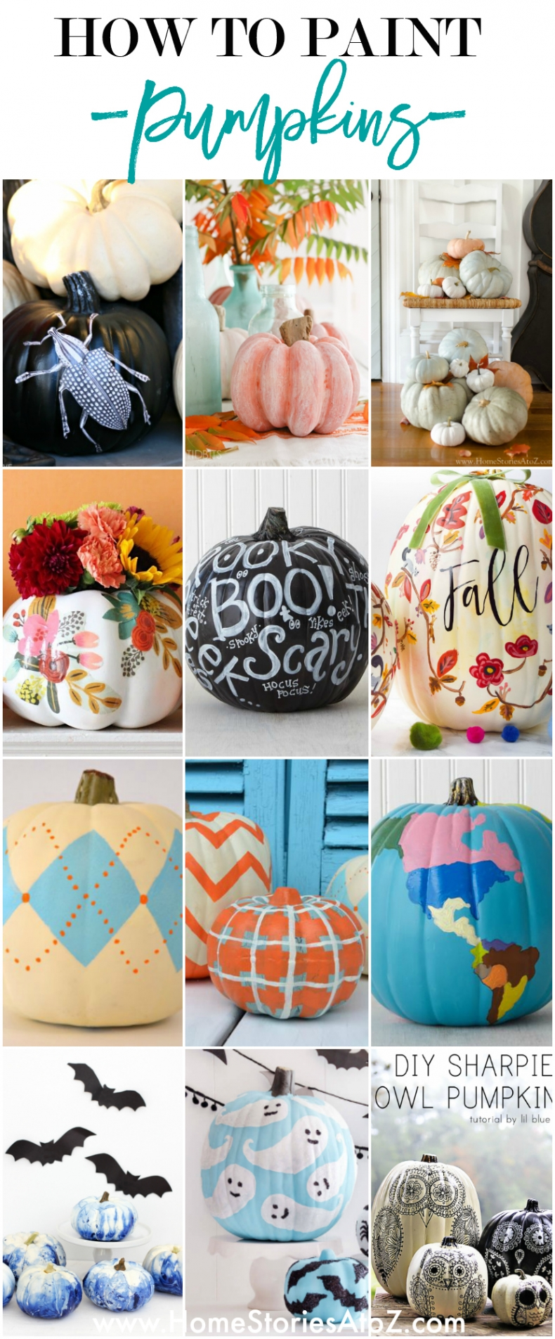 How to Paint Pumpkins - DIY Pumpkin Painting Ideas