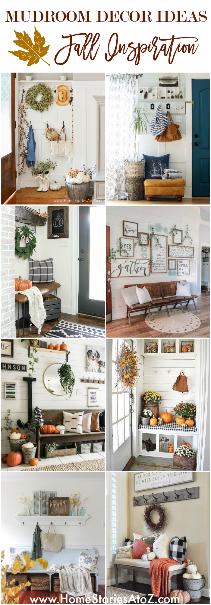 Mudroom Decor Ideas - Fall Inspiration for Your Home