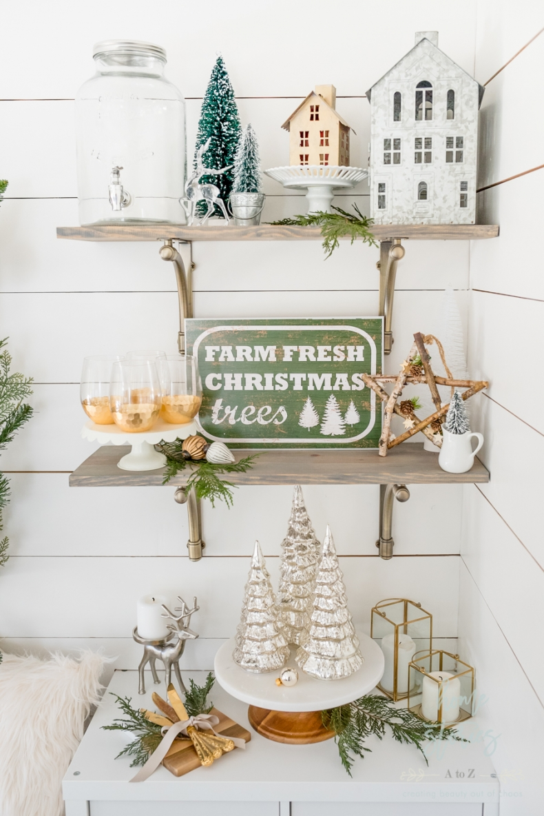 Beautiful and Easy Christmas Decor Ideas - Swap out your everyday decor by Home Stories A to Z