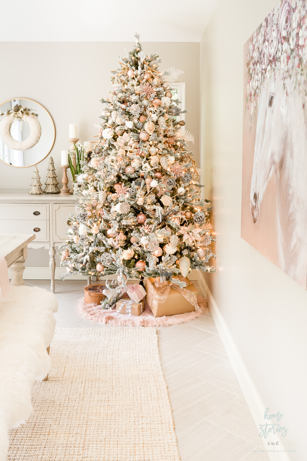 How To Decorate A Christmas Tree Like A Designer Step By Step Video