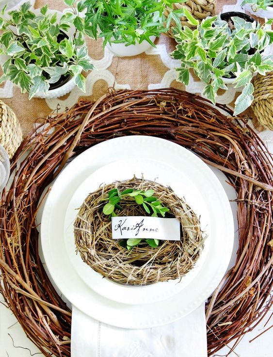 Thanksgiving Place Setting Ideas - Southern Thanksgiving by Thistlewood Farms