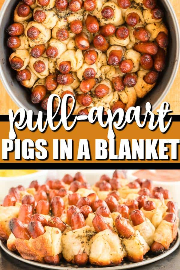 100+ Appetizer Ideas - Pull Apart Pigs in a Blanket by Princess Pinky Girl