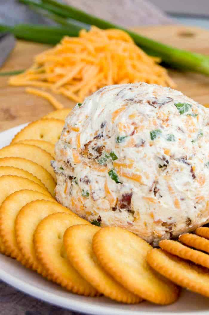 100+ Appetizer Ideas - The Best Cheddar Ranch Cheeseball Recipe by The Diary of a Real Housewife