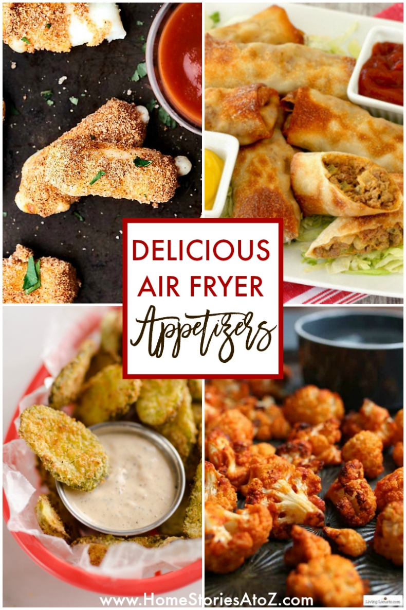 100+ Appetizer Recipes - Delicious Air Fryer Recipes