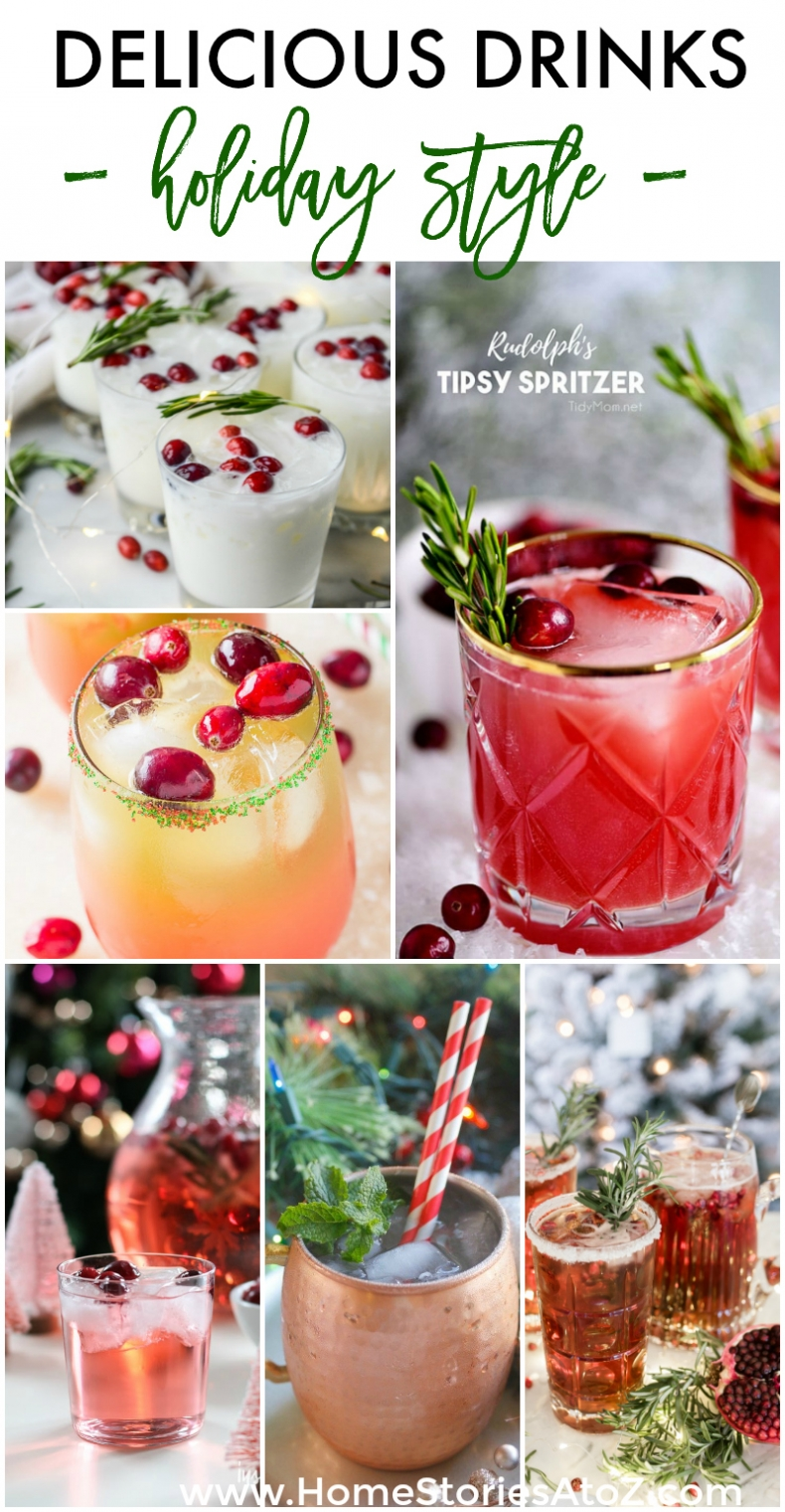 Delicious Drinks - Holiday Style