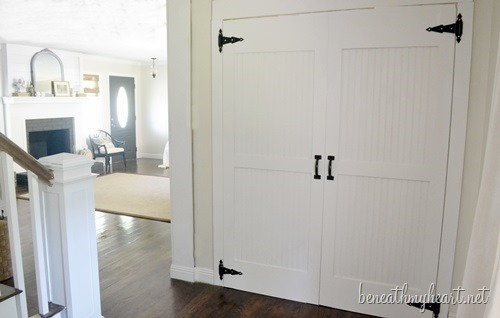 Flat Panel Door Makeover Ideas - Beneath by Heart