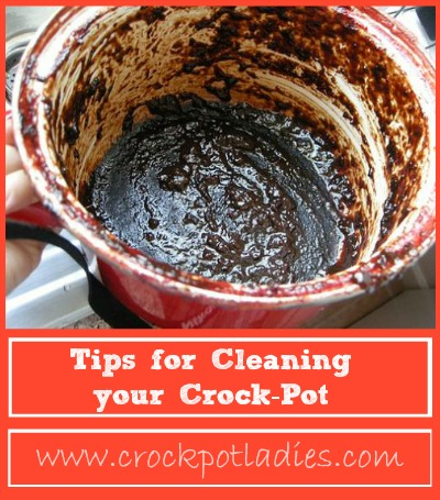 Life Hacks for Your Home - Cleaning Hacks - How to Clean a Crockpot by Crockpot Ladies