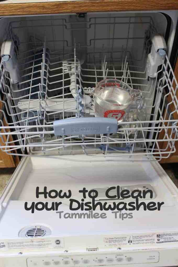 Life Hacks for Your Home - Cleaning Hacks - How to Clean a Dishwasher by Tammilee Tips
