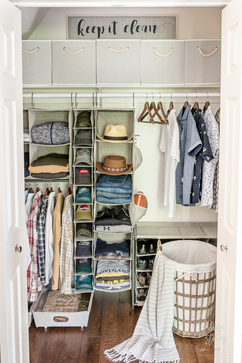 Ways to Declutter Your Home With Baskets - Closet Organization