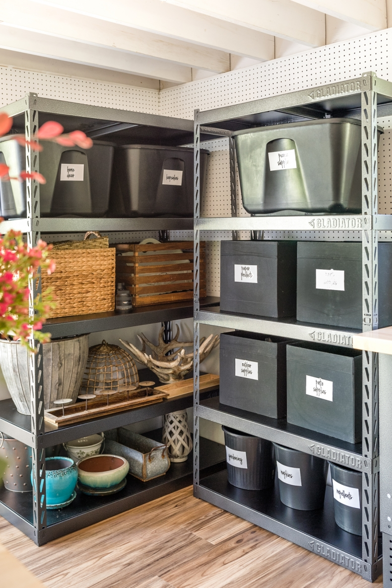 Ways to Declutter Your Home With Baskets - Garage and Shed Organization