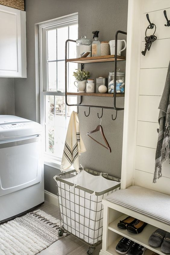 Ways to Declutter Your Home With Baskets - Laundry Room Organization Laundry Basket