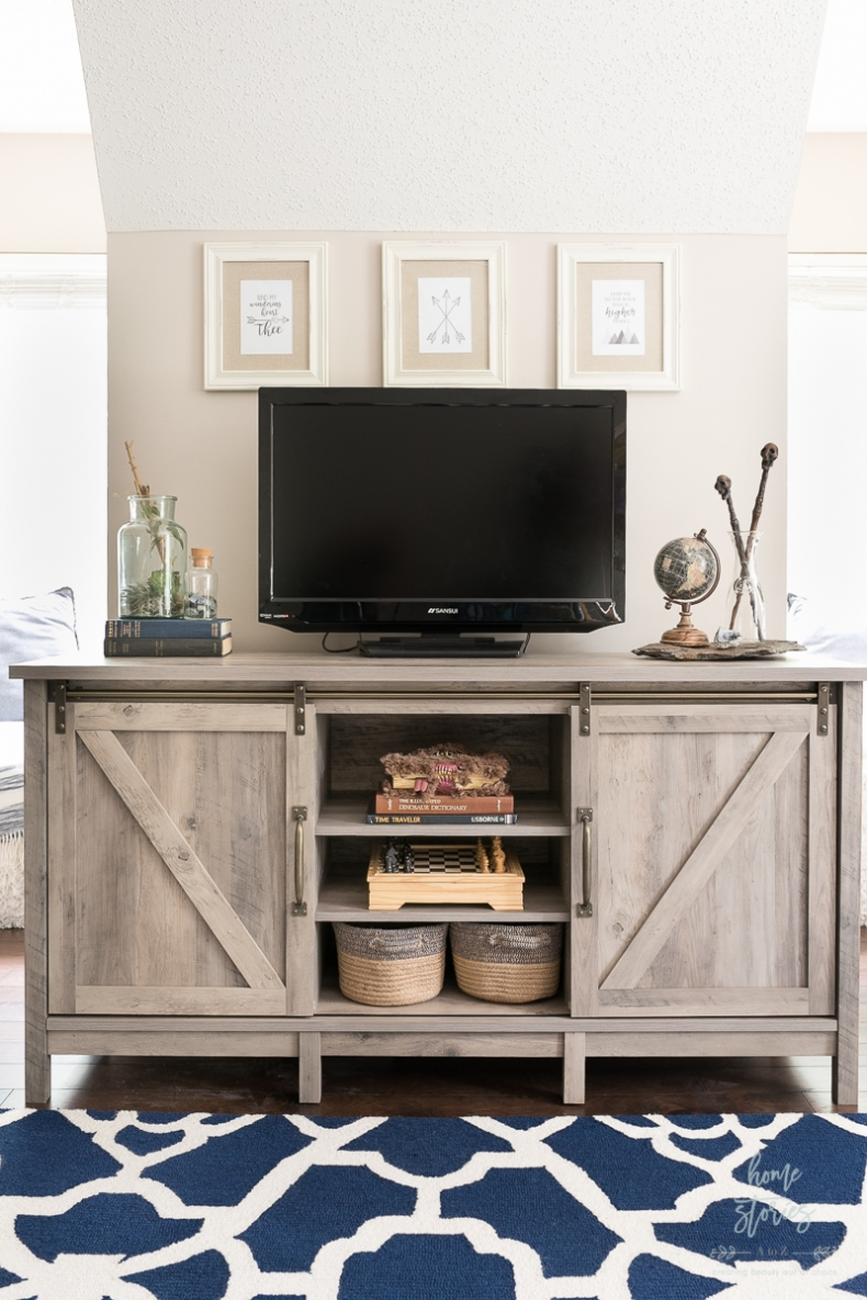 Ways to Declutter Your Home With Baskets - Media Room Game Storage