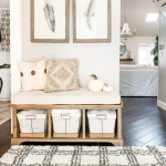 Ways to Declutter your Home with Baskets - Mudroom and Entryway Organizaiton