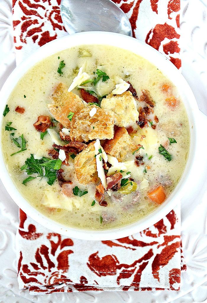 BACON-CHEESEBURGER-SOUP recipe