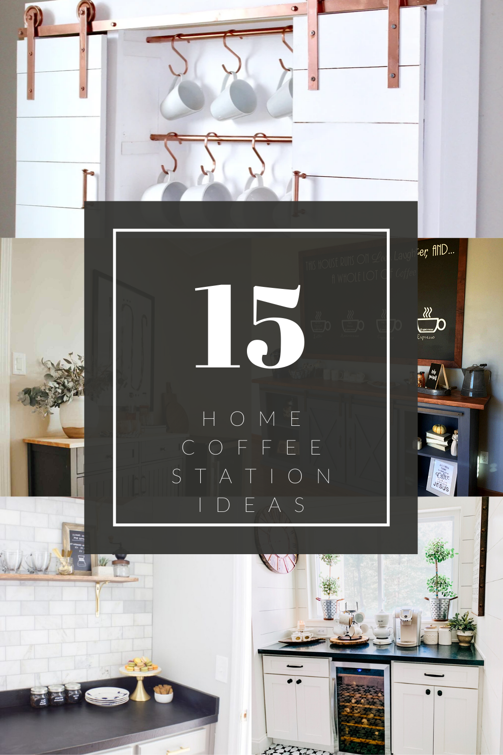 Home Coffee Station Ideas