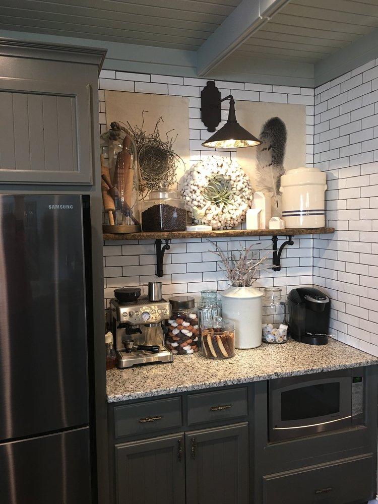 kitchen coffee bar idea