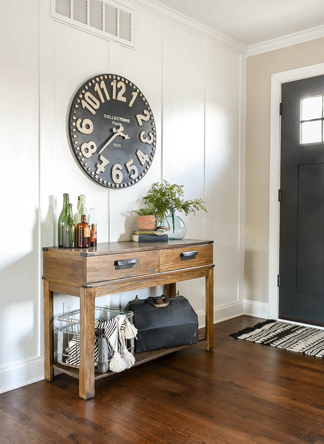 All About Clocks - 12 Stylish Oversized Wall Clocks by Little House of Four