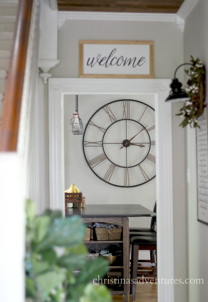 All About Clocks - Farmhouse Wall Clock by Christina Marie Blog