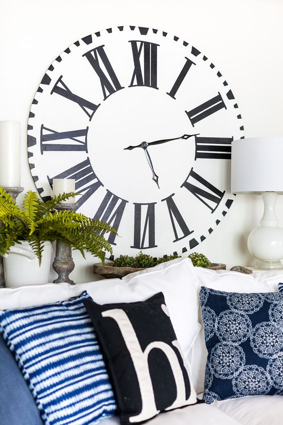 All About Clocks - Fixer Upper Style Farmhouse Clock by In My Own Style