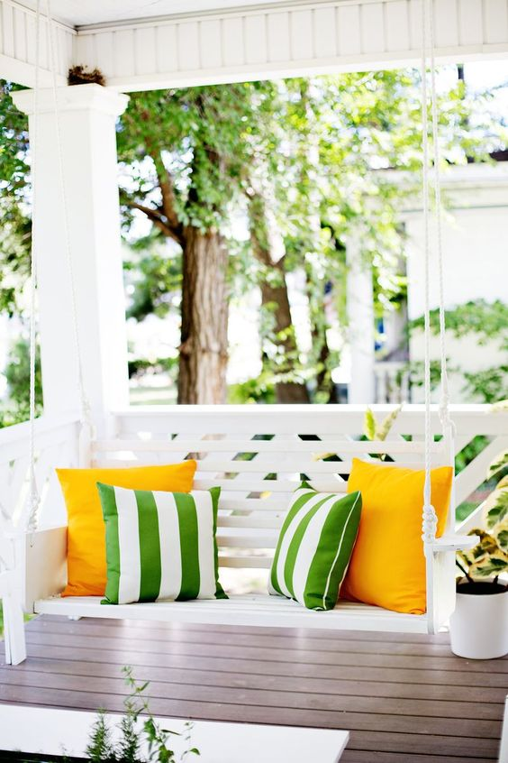 DIY Porch Swing Plans - Build a Porch Swing by A Beautiful Mess
