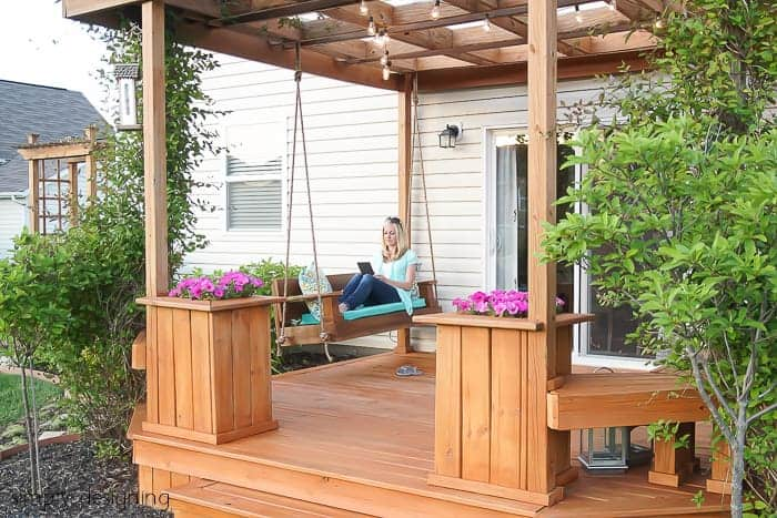 DIY Porch Swing Plans - Build a Porch Swing by Simply Designing
