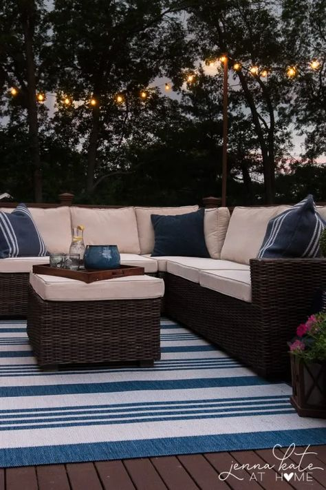 Entertaining Outdoors Using String Lights - Easiest Way to Hang String Lights