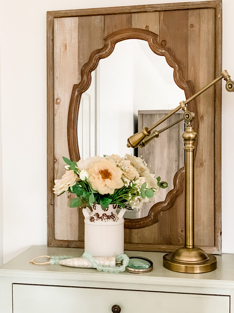 french country mirror wood mirror