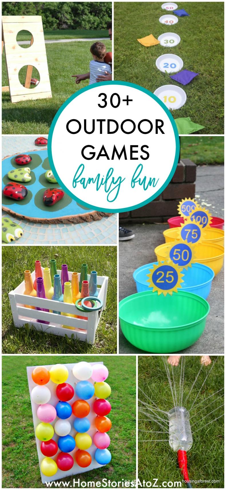30+ DIY Fun Games for Outdoors