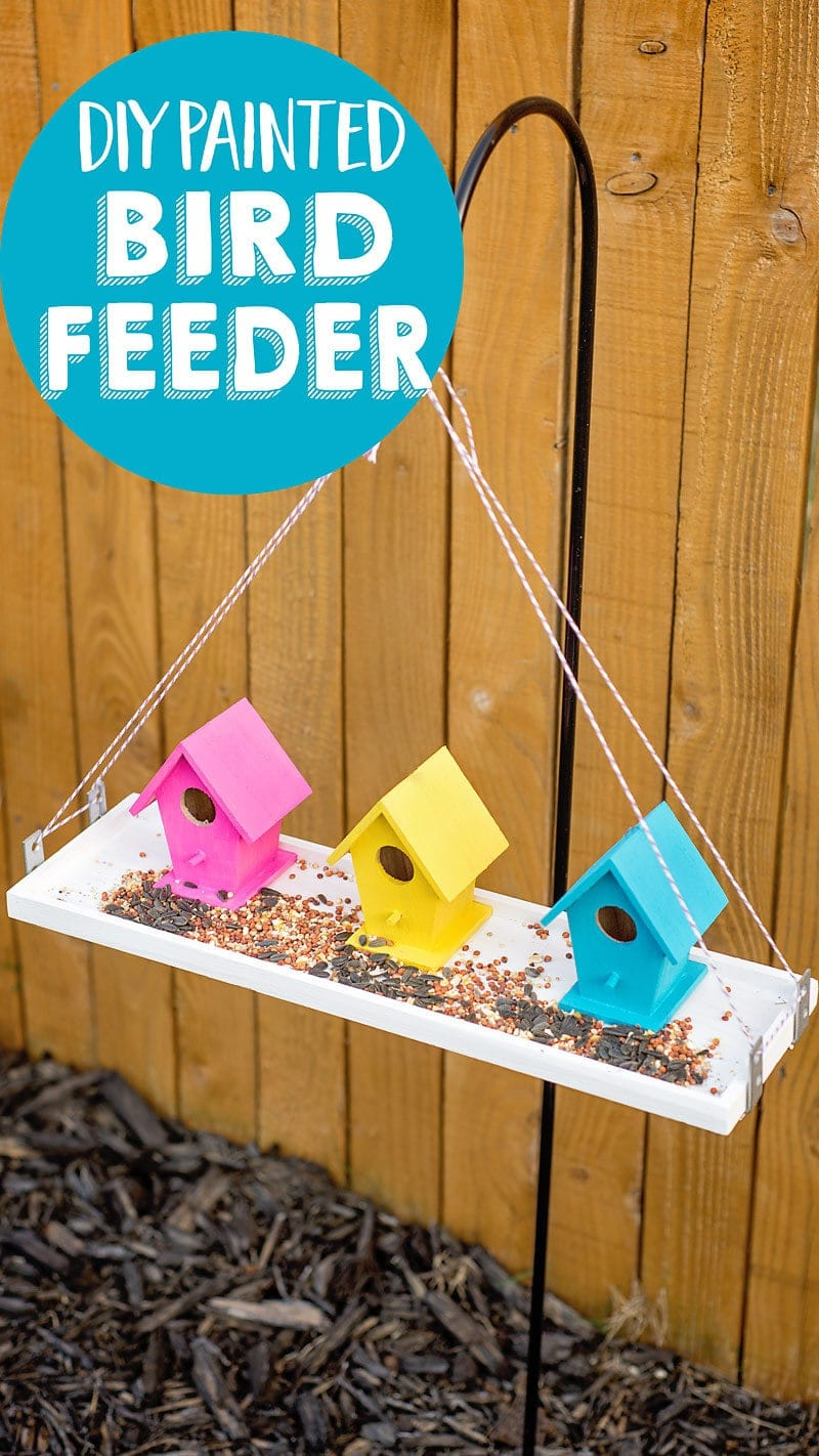 Bird Baths, Bird Feeders, and Bird Houses - How to Make a Bird Feeder by Scattered Thoughts of a Crafty Mom