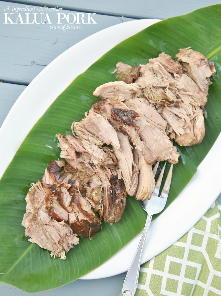 Comfort Food Recipes - Kalua Pork by Sand & Sisal