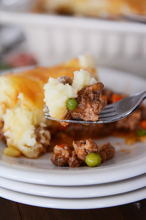 Comfort Food Recipes - Shepherd's Pie by Mel's Kitchen Cafe